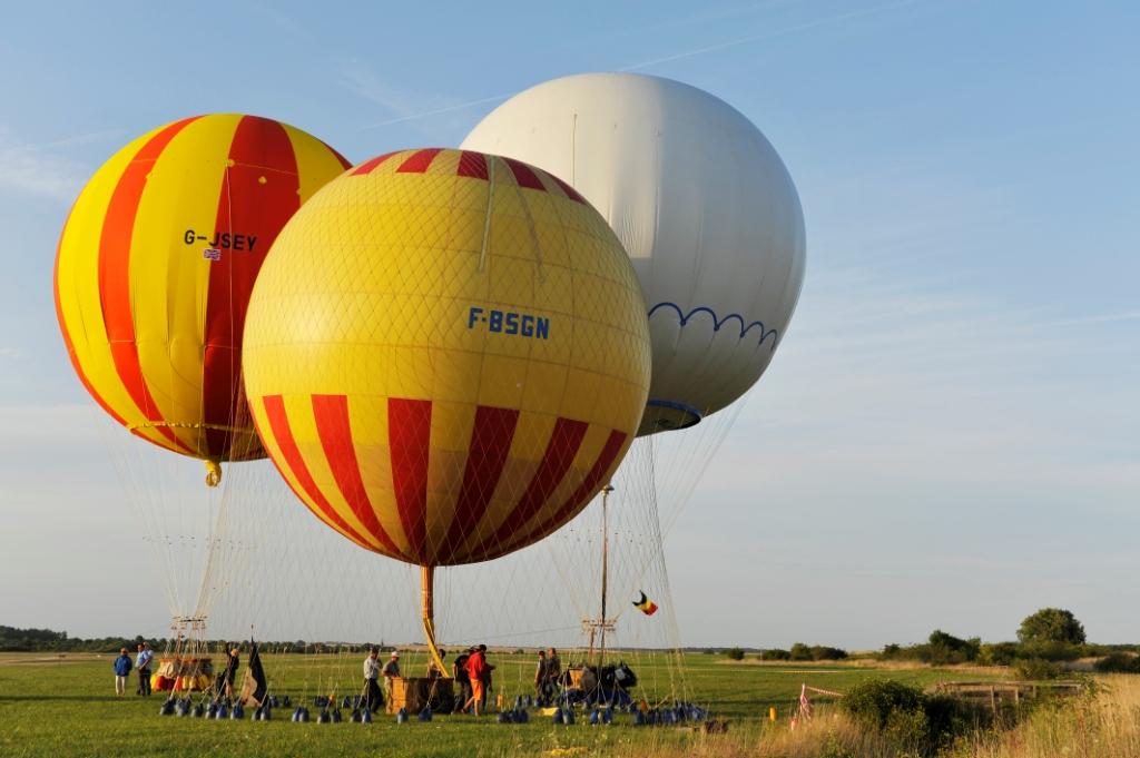 montgolfiere gaz